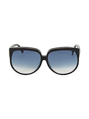 9abd51e5895 CELINE - CL40048F 63MM Adjusted Fit Gradient Round Sunglasses