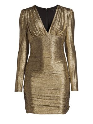 Metallic Knit Dress by Bcbgmaxazria