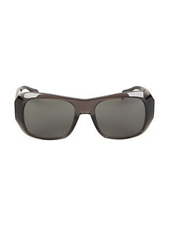 58be7d4025 QUICK VIEW. CELINE. CL40049I 58MM Transparent Square Sunglasses