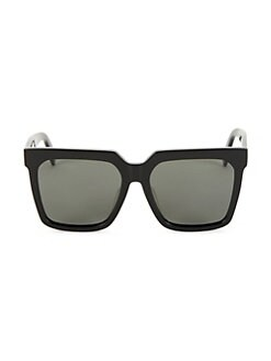 c7b30c39a9 QUICK VIEW. CELINE. CL40055F 55MM Adjusted Fit Polarized Square Sunglasses