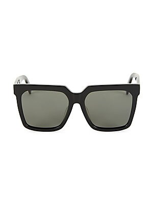 Cl40055 F 55 Mm Adjusted Fit Polarized Square Sunglasses by Celine