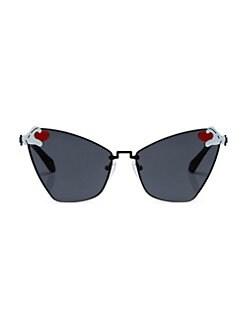 0899993190942 Karen Walker - Karen Walker x Disney Heart Hands 58MM Cat Eye Sunglasses