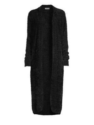BELLA DAHL Cardi Coat in Black