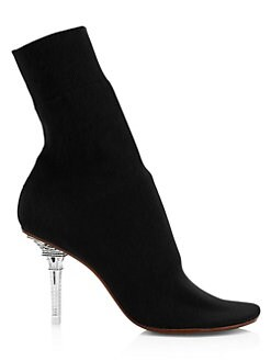 a5ca6ae087d3 Vetements. Eiffel Tower Heel Sock Ankle Boots