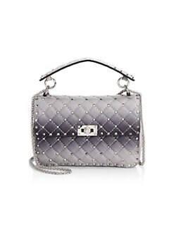 4b41b0684e QUICK VIEW. Valentino Garavani. Medium Rockstud Spike Ombré Leather Bag