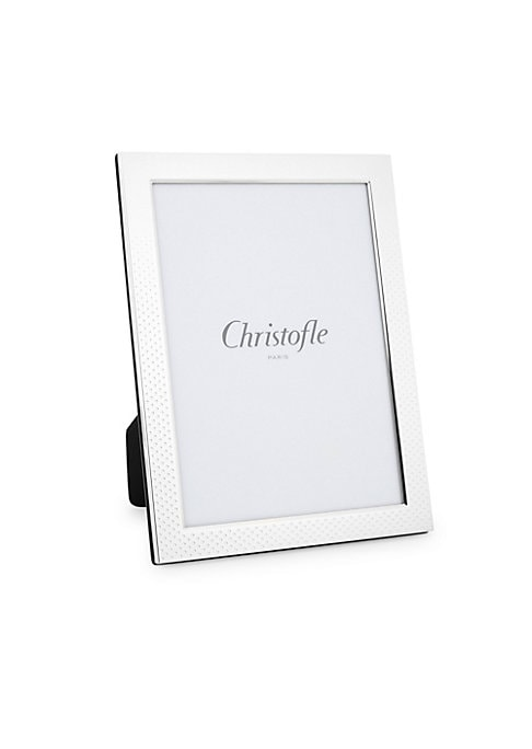 Image of All Christofle picture frames are varnished and do not require any special care. A soft, dry cloth is all that is needed to remove dust from varnished products. Do not use Christofle or household cleaning products, which could damage the finish. Silver pl