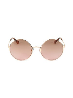 5985f706b3c Jimmy Choo - 59MM Gema Round Gemstone Sunglasses - saks.com