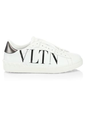 Vltn Rock Stud Logo Sneakers by Valentino Garavani