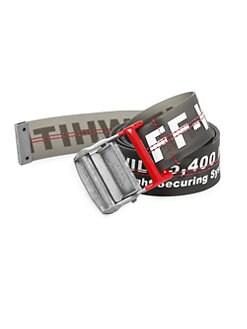 a11a4f7e1d6 Off-White. Industrial PVC Belt