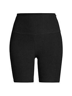 1b6da0aec1 Space Dye High-Waist Bike Shorts TEAM BURGUNDY. QUICK VIEW. Product image.  QUICK VIEW. Beyond Yoga
