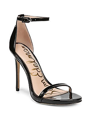 923fa7b49 Metallic Leather Ankle-Strap Sandals.  845.00. Sam Edelman - Ariella Patent  Dress Sandals