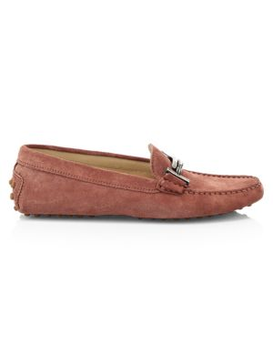 Tod S Gommini Doppia Suede Loafers