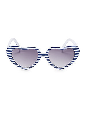 ec3b82090f4 Janie and Jack - Kid s Juno Valentine x Janie and Jack Stripe Heart  Sunglasses - saks.com
