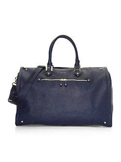 hook + ALBERT. Leather Garment Weekender fab012b220371