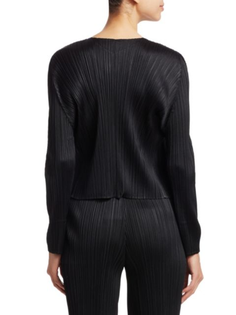 Pleats Please Issey Miyake Basics Jacket | SaksFifthAvenue