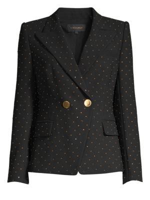 Kobi Halperin Nicole Stud Double-Breasted Jacket