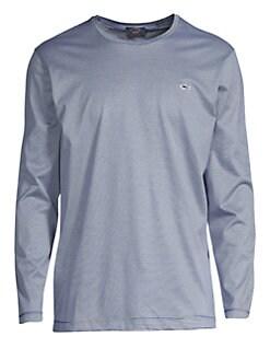 50957fcf QUICK VIEW. Paul & Shark. Knitted Striped Long-Sleeve Shirt