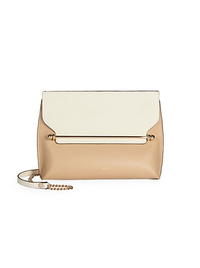 Strathberry - East/West Stylist Bi-Color Leather Crossbody Bag