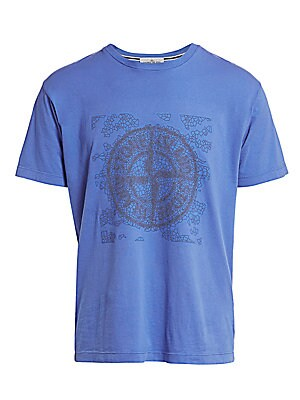 Logo Graphic Tee by Stone Island