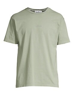 d271240a21 QUICK VIEW. Stone Island. Classic Embroidered Logo Tee