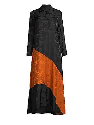 1231cc4e5dde GANNI - Dainty Georgette Wrap Dress - saks.com