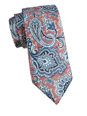 Corneliani Paisley Silk Tie