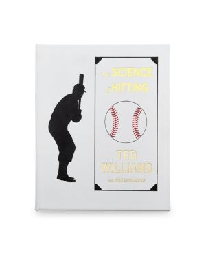 Graphic Image The Science Of Hitting Leather Bound Book