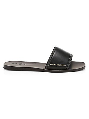 8a7e791da Brunello Cucinelli - Flat Leather Sandals