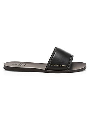 c43223654 Brunello Cucinelli - Flat Leather Sandals