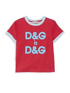 60dba4d2024 QUICK VIEW. Dolce   Gabbana. Little Girl s   Girl s DG Cotton Tee