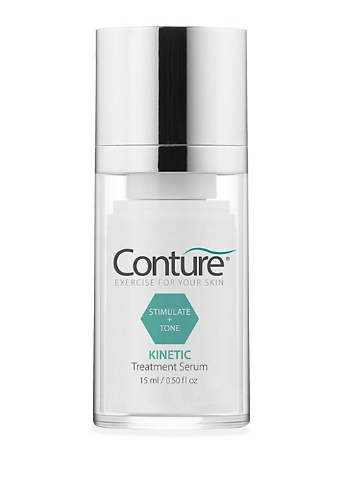 Image of WHAT IT IS. You exercise the rest of your body, why aren't you exercising your skin? The original Conture Skin Toning Device features three treatment programs, each uniquely designed for the face, neck or delicate areas. Treatment Serum included. 0.5 oz.