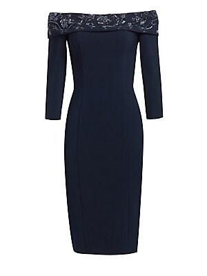 b095e5150fa Theia - Petal Dress - saks.com
