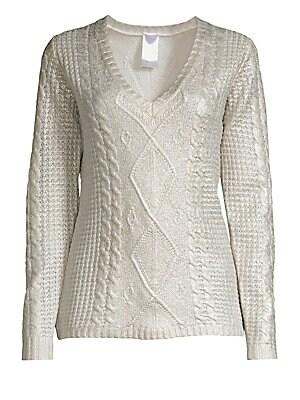 04e8dbfd0ab3 Milly - Oversized Fisherman Sweater - saks.com