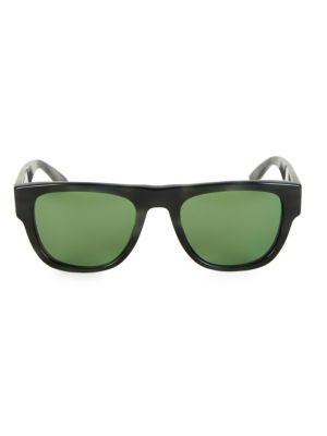Burberry - 54MM Keyhole D-Shape Sunglasses - saks.com a602b177a55