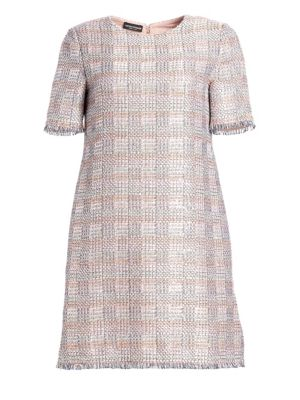Jacquard Mini Dress by Emporio Armani