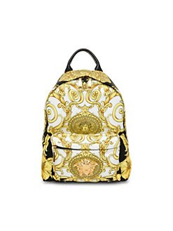 9423743a83e8 Versace. Medusa Barocco Hibiscus Print Backpack
