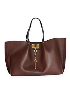 QUICK VIEW. Valentino Garavani. Go Logo Escape Large Leather Tote 1b800930c33aa