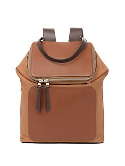 QUICK VIEW. Loewe. Goya Leather Backpack c8f1f9891757e