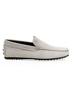 a35d59e4117 Tod s. Pantofola City Suede Driving Loafers