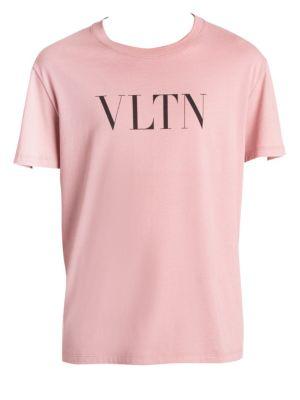 Cotton Logo T Shirt by Valentino