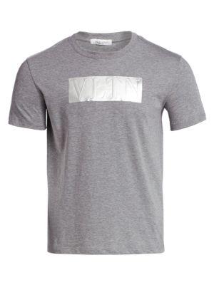 Valentino Embossed Logo T Shirt