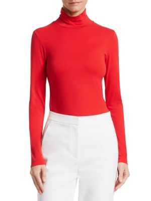 Nuda Fine Jersey Turtleneck by St. John