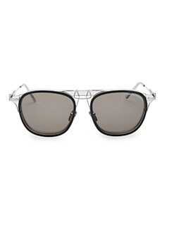d87b2158deac4 Product image. QUICK VIEW. Calvin Klein. Contemporary 53MM Aviator  Sunglasses