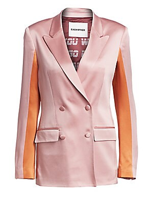 colorblock-satin-blazer by each-x-other