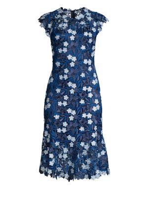 Florance Floral Lace Sheath Dress