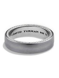 Product Image. #. QUICKVIEW. David Yurman. Streamline Narrow Band Ring