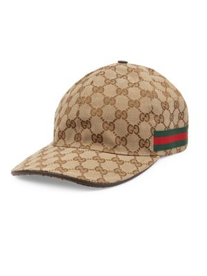 ffbf6bcb Gucci - Canvas Baseball Hat - saks.com