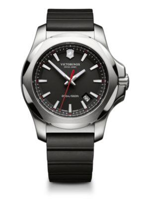 VICTORINOX SWISS ARMY Inox Stainless Steel Watch in Black