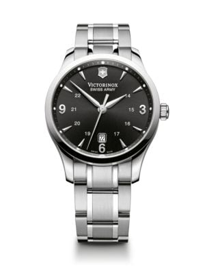 Victorinox Swiss Army Alliance Stainless Steel Bracelet Watch