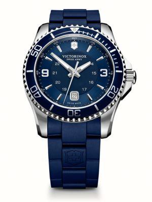 VICTORINOX SWISS ARMY Maverick Gs Two-Tone Watch in Signature Navy